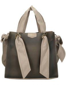 Nobo béžová lesklá stylová shopper bag vel. ONE SIZE 131549-475271