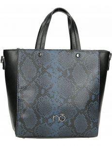 Dámská shopper kabelka se vzorem hadí kůže vel. ONE SIZE 131553-475275