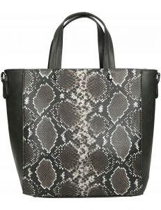 Dámská shopper kabelka se vzorem hadí kůže vel. ONE SIZE 131554-475276