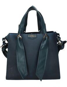Nobo modrá lesklá stylová shopper bag vel. ONE SIZE 131560-475282