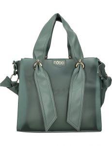 Nobo zelená lesklá stylová shopper bag vel. ONE SIZE 131561-475283
