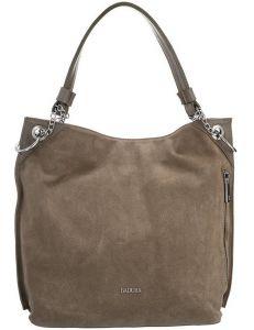 Badura béžová semišová shopper bag vel. ONE SIZE 131572-475294
