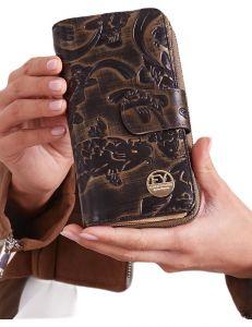 černá dámská vzorovaná peněženka vel. ONE SIZE 131594-475316