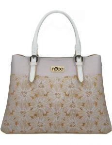 Nobo světle fialová kabelka s květinovým vzorem vel. ONE SIZE 131595-475317