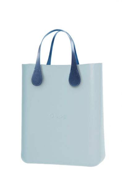 O bag O Chic kabelka Polvere s krátkými koženkovými držadly Extra Slim Avio
