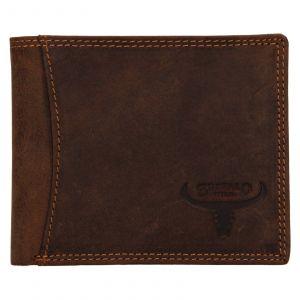 Pánská kožená peněženka Wild Buffalo Huberts – světle hnědá