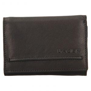 Dámská kožená peněženka Lagen Kateřina – černá