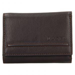 Dámská kožená peněženka Lagen Kateřina – tmavě hnědá