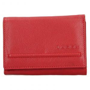 Dámská kožená peněženka Lagen Kateřina – červená