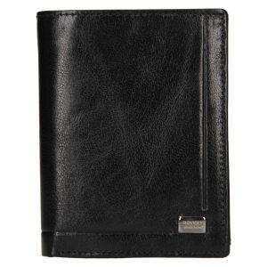 Pánská kožená peněženka Rovicky Lucas – černá