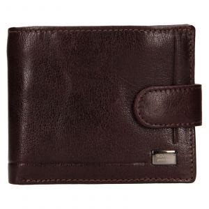 Pánská kožená peněženka Rovicky Oskar – hnědá