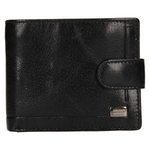Pánská kožená peněženka Rovicky Oskar – černá