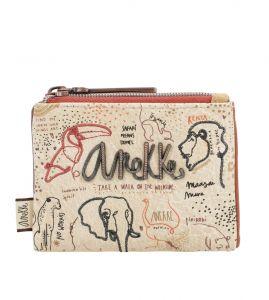 Anekke béžová malá peněženka Safari Fuison