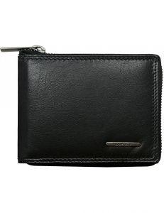 černá pánská peněženka na zip vel. ONE SIZE 132846-479537