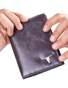 černá pánská peněženka s logem vel. ONE SIZE 132849-479540