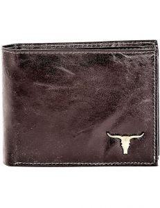Tmavě hnědá pánská peněženka vel. ONE SIZE 132852-479543