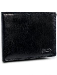 Pánská černá kožená peněženka rovicky vel. ONE SIZE 133489-482102