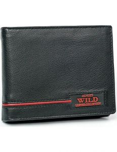 Always wild pánská černá peněženka vel. ONE SIZE 133529-482143