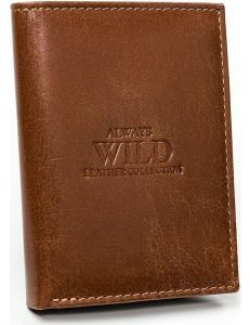 Always wild hnědá peněženka vel. ONE SIZE 133531-482145