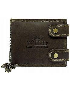 Always wild hnědá pánská peněženka vel. ONE SIZE 133552-482166