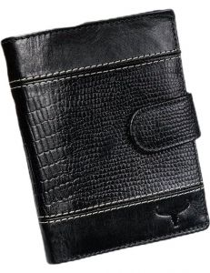 Buffalo wild originální černá peněženka vel. ONE SIZE 133553-482167