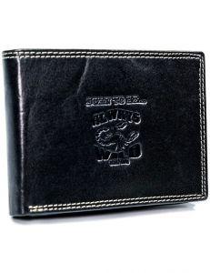 Always wild peněženka s ražbou – černá vel. ONE SIZE 133554-482168