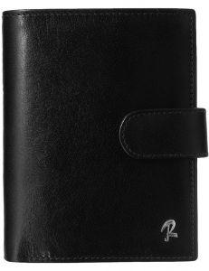Rovicky větší pánská černá peněženka z kůže vel. ONE SIZE 133562-482176