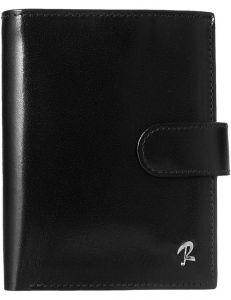 Rovicky menší pánská černá peněženka z kůže vel. ONE SIZE 133563-482177