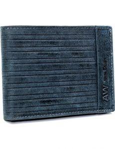 Always wild® modrá pánská kožená peněženka vel. ONE SIZE 133573-482187