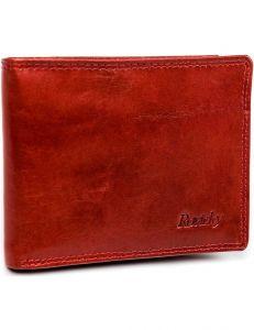 Rovicky® červená pánská kožená peněženka vel. ONE SIZE 133576-482190