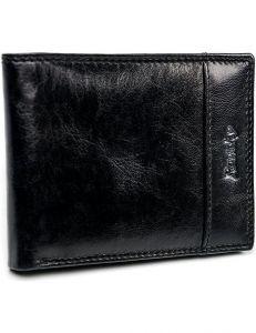 Pánská černá kožená peněženka rovicky vel. ONE SIZE 133577-482191