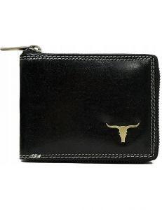 Buffalo wild praktická černá peněženka vel. ONE SIZE 133612-482274
