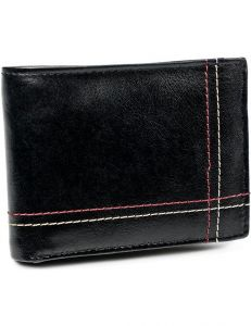 Always wild černá pánská kožená peněženka vel. ONE SIZE 133626-482288