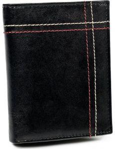 Always wild černá pánská kožená peněženka vel. ONE SIZE 133628-482290