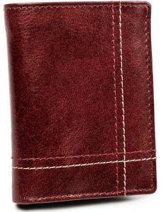 Pánská kaštanová kožená peněženka always wild® vel. ONE SIZE 133630-482292