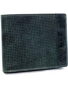 Always wild® černá pánská kožená peněženka vel. ONE SIZE 133641-482303