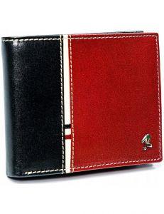 Pánská černo-červená peněženka vel. ONE SIZE 133665-482327