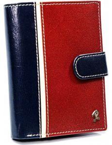 Pánská červeno-modrá peněženka rovicky vel. ONE SIZE 133666-482328