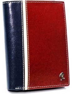 Pánská modro-červená peněženka vel. ONE SIZE 133667-482329