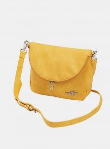 Žlutá crossbody kabelka Meatfly Shea