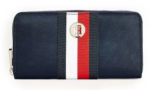 Tommy Hilfiger modrá peněženka Poppy Large Za Desert Sky