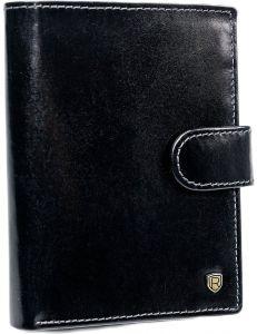 Pánská černá kožená peněženka rovicky vel. ONE SIZE 116744-490400