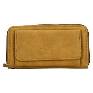 Dámská peněženka Enrico Benetti Stella – žlutá