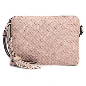 Dámská crossbody kabelka Tamaris Maryla – růžová