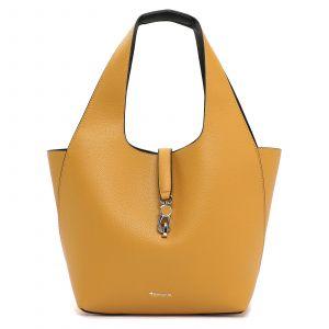 Dámská 2v1 kabelka Tamaris Cordula – žluto-černá