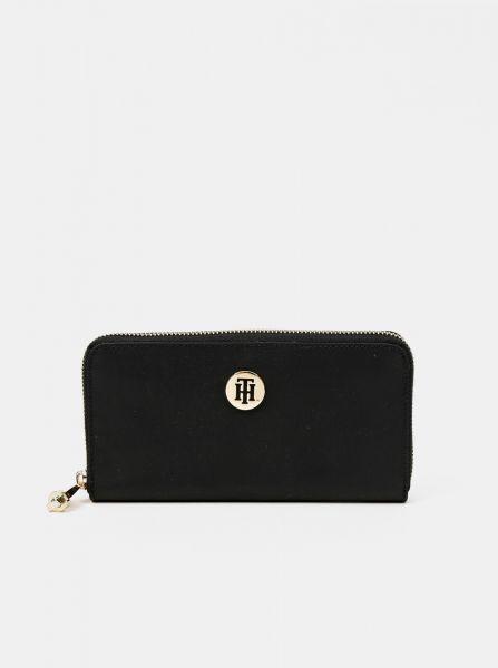 Tommy Hilfiger černá peněženka Poppy Large Za Black
