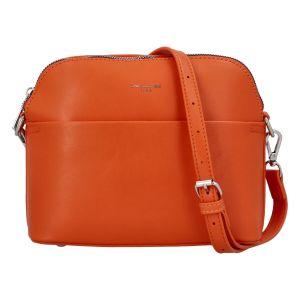 Dámská crossbody kabelka oranžová – David Jones Sasha oranžová