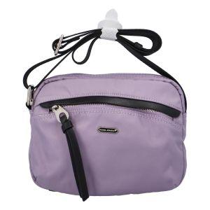 Malá dámská crossbody kabelky světle fialová – David Jones Júlia fialová