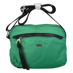 Malá dámská crossbody kabelky zelená – David Jones Júlia zelená
