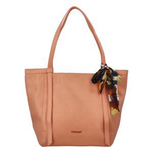 Velká dámská kabelka přes rameno oranžová – David Jones Aditya oranžová